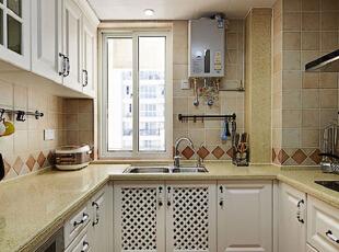 ,115平,10万,美式,公寓,厨房,黄色,
