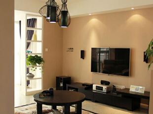 现代三居-130平简约浪漫三居室
