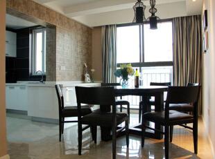 ,130平,11万,现代,三居,餐厅,黑白,