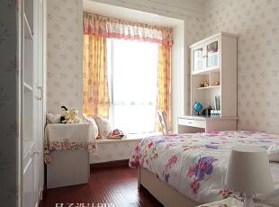 ,150平,70万,欧式,四居,卧室,白色,