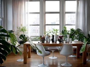 ,105平,9万,现代,公寓,餐厅,原木色,白色,