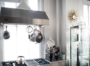 ,105平,9万,现代,公寓,厨房,黑白,