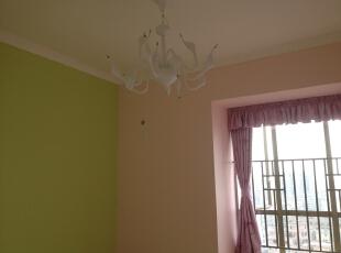 ,120平,5万,三居,现代,卧室,白色,粉色,
