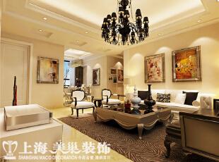 郑州托斯卡纳90平两室两厅简欧风格客厅效果图,90平,7万,欧式,两居,客厅,黑白,