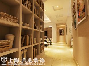 托斯卡纳90平两室两厅简欧风格入户门装修效果图,90平,7万,欧式,两居,书房,原木色,