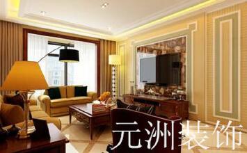【大同元洲装饰】西京府151新中式风格案例欣赏