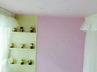,90平,9万,现代,Loft,卧室,粉色,黄色,