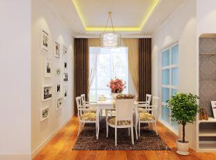 ,120平,6万,三居,现代,餐厅,白色,原名色,
