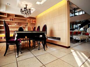 ,439平,94万,新古典,别墅,餐厅,黄色,