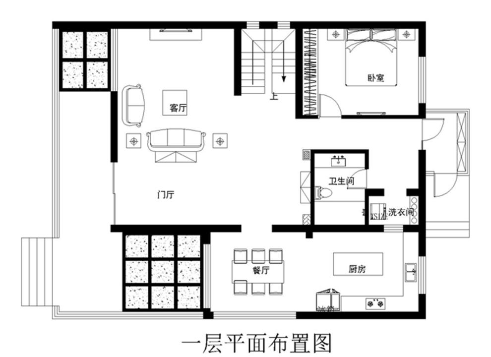 领秀翡翠山-210.0平米四居欧式风格-谷居家居装修设计