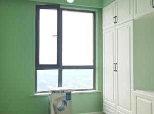 ,92平,15万,美式,两居,卧室,绿色,白色,