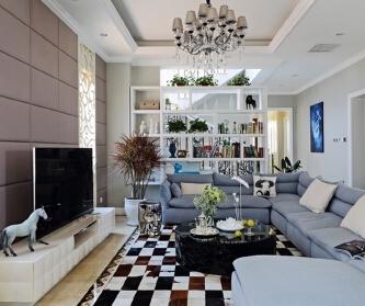 混搭风格别墅设计实景赏析