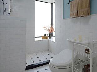 永威五月花城C1户型145平方三室两厅现代简约装修效果图 卫生间,145平,10万,现代,三居,