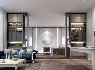 主人房为休息空间用木的比例也有所提高增强舒适感。,600平,350万,地中海,别墅,
