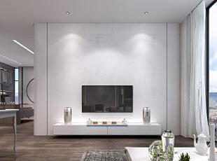 书房的电视背景墙。,600平,350万,地中海,别墅,