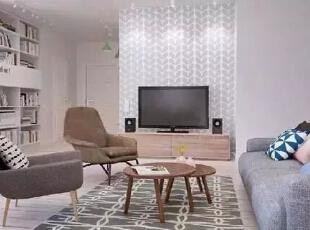 设计重点:电视柜设计   编辑点评:简单的木质柜子,收纳展示功能丝毫不减。一左一右的音响、柜子还巧添居室的对称美,利于打造经济实用的俏空间,简单的书房设计。,170平,21万,宜家,四居,