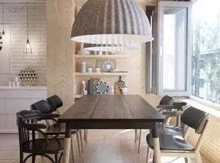 设计重点:屋中屋   编辑点评:设计师在屋内用柱子将餐厅框出来,看似开放式设计,又分区明显。这屋中又有一屋的巧妙设计,成为居室的一大亮点。,170平,21万,宜家,四居,