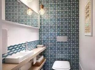 设计重点:墙壁设计   编辑点评:墙壁凸出设计,增添居室的凹凸感。借用凹凸处,放置沐浴用品,更是强化居室的收纳展示功能,凸显强大的空间利用率。,170平,21万,宜家,四居,