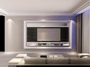 ,140平,3万,简约,三居,客厅,现代,白色,黑白,