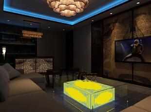 KTV房间,1000平,500万,中式,公装,