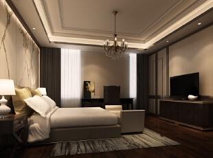 小儿子的卧室,1000平,500万,中式,公装,