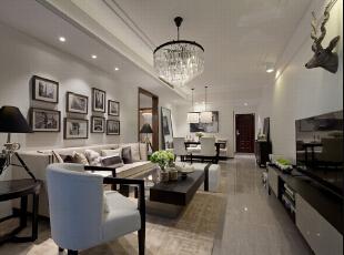 ,133平,9万,现代,四居,客厅,