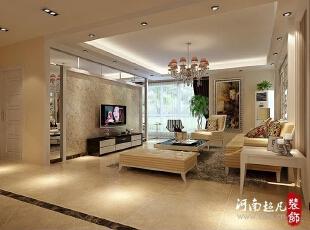 整个欧式餐厅通过巧妙的空间布局划分,居中的电视背景墙结合中立的承重墙构架一个完整的空间,然而预留的飘窗一角定义休闲茶座,让整个快节奏生活明显得以降温、降压,让人情趣怅然。,148平,13万,欧式,四居,客厅,