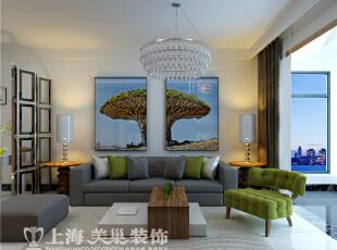 中豪汇景湾90平两室两厅现代简约客厅全景装修样板间,90平,5万,现代,两居,客厅,