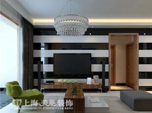 中豪汇景湾装修案例现代简约风格90平两室两厅案例电视背景墙效果图,90平,5万,现代,两居,客厅,