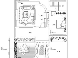 联盟新城330平方五室三厅三卫——户型平面方案布局图,330平,60万,欧式,复式,