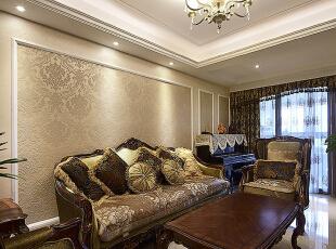 ,90平,8万,现代,两居,客厅,