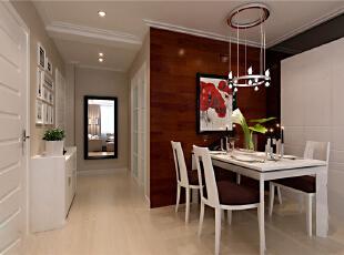 ,90平,6万,现代,两居,餐厅,玄关,白色,原木色,黑白,宜家,
