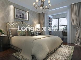 ,100平,5万,欧式,两居,绿色,黑白,卧室,