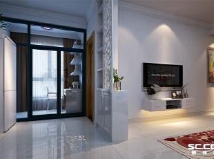 它的外形简洁,功能强,强调室内空间形态和屋捡的单一性以及抽象性,116平,7万,现代,三居,