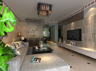 ,105平,5万,现代,两居,客厅,白色,
