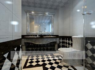 简欧风格就是简化了的欧式装修风格。也是目前住宅别墅装修最流行的风格。简欧风格更多的表现为实用性和多元化。简欧家具包括床、电视柜、书柜、衣柜、橱柜等等都与众不同,营造出日常居家不同的感觉。,206平,10万,宜家,复式,卫生间,黑白,