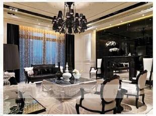 简约欧式风格沿袭古典欧式风格的主元素,融入了现代的生活元素。欧式的居室有的不只是豪华大气,更多的是惬意和浪漫。通过完美的典线,精益求精的细节处理,带给家人数不尽的舒服触感。,206平,10万,宜家,复式,客厅,黑白,