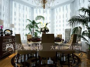 简约欧式风格沿袭古典欧式风格的主元素,融入了现代的生活元素。欧式的居室有的不只是豪华大气,更多的是惬意和浪漫。通过完美的典线,精益求精的细节处理,带给家人数不尽的舒服触感。,186平,8万,欧式,四居,餐厅,红色,黄色,