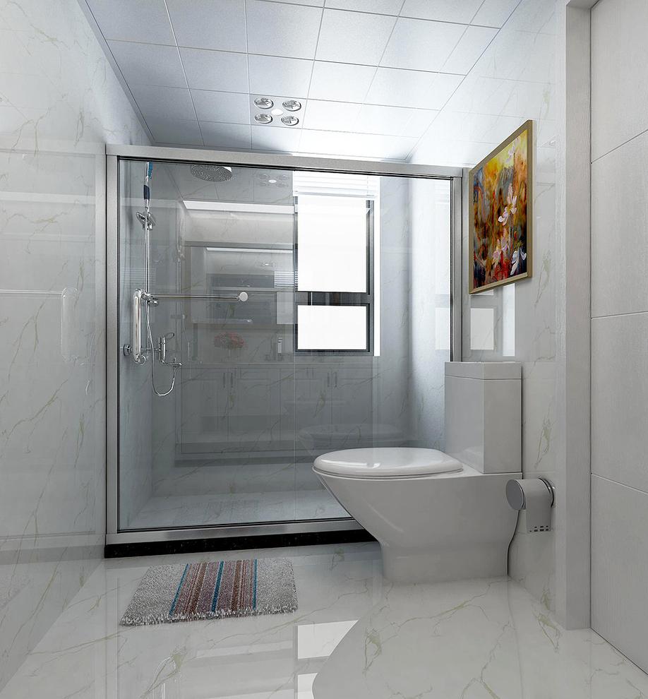 18万 主要材料:墙纸,水曲柳水洗白,大理石,银镜,欧式线条 空间格局