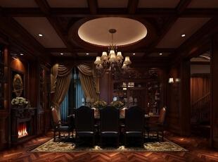 客厅:实木是30年代家具最常用的材料,那么,木材本身的褐色或棕色也许就能成为这种风格的代表色。檀木的深邃,花梨木的精巧,松木的清透,每一种材料、色彩都有不同的视觉表情,最重要的是那一股质朴超然的情调。对老上海风格略有了解的人都能体会到,只有纯度比较低的色彩才符合这种深沉的空间气质。,450平,20万,现代,一居,