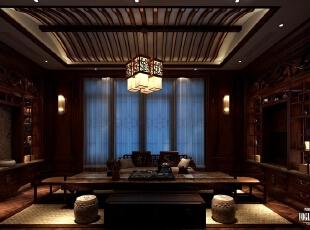 茶室:在屋中漫步,有种穿梭时空之感,让我们远离了现代都市的喧嚣,获得一份难得的平静。不同年代、不同风格的家具、字画摆放在一起一点也不显得突兀,因为正是这些原汁原味的家具才能最终呈现出如此这般地道的老上海风情。,450平,20万,现代,一居,