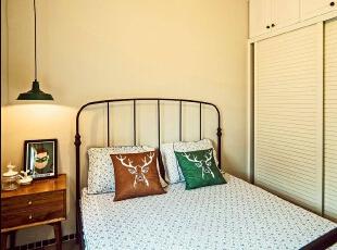 简单又不失温馨的次卧,简洁舒适。,89平,7万,欧式,两居,卧室,