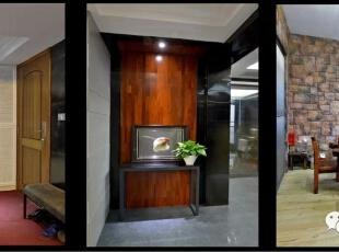 ,130平,30万,现代,三居,卧室,玄关,阳台,黑白,黑白,原木色,