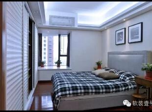 ,130平,30万,现代,三居,卧室,白色,