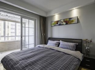 ,90平,22万,现代,两居,卧室,白色,