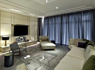 ,211平,25万,现代,四居,客厅,白色,