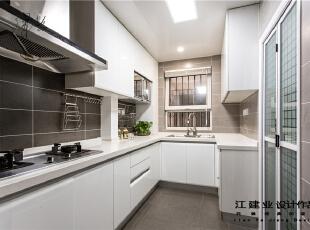 厨房,140平,40万,混搭,三居,厨房,现代,简约,宜家,小资,白色,紫色,春色,黑白,