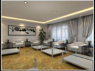 会客厅 接待室 现代 装修,2500平,110万,现代,公装,