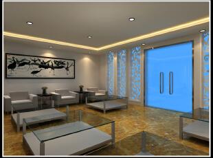 接待室 会客厅 装修,2500平,110万,现代,公装,