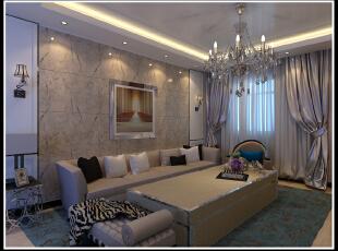 现代 客厅 装修,2500平,110万,现代,公装,